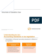 Sources of Taxation Law