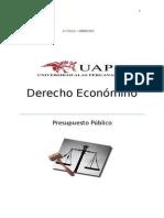 Presupuesto Público Peru(Trabajo) 2015