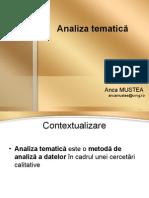 Analiza-tematica