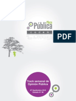 Encuesta Plaza Pública Cadem 7 Sept-2015