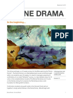Divine Drama Fall Newsletter 2015