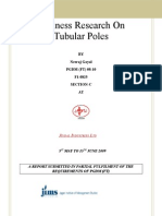 Business Research on Tubular Poles