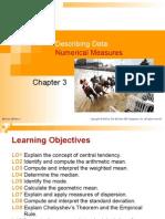 Chapter 3 - Describing Data