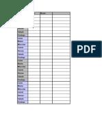 Nuevo Libro de Microsoft Excel