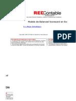 Curso Balanced Scorecard Modelo de Bsc