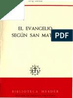 El Evangelio Segun San Mateo_JOSEF SCHMID.pdf