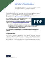 Instructivo Informe Director de Beca