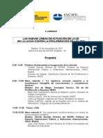 II Jornadas ADM lucha contra la no proliferación de armas de destrucción másiva, Biológicas , Nucleares, Químicas