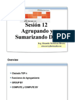SQL 2005- Sesion 12- Agrupado Datos