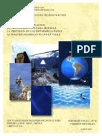 Desarrollo y Validación de Procedimientos Altimétricas Gps en Chile