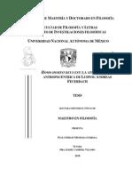 Feuerbach, Tesis Paulo Sergio Mendoza