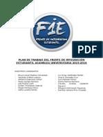 Plan de Trabajo Fie Rea 2015