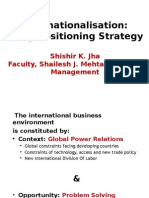 #Internationalisation Strategy