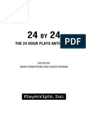24 by 24-The 24 Hour Plays Anthology | Copyright | Narration