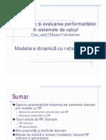 Modelarea si evaluarea performantelor 2