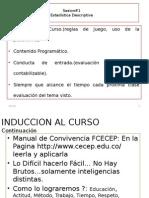 Estadistica Descriptiva Sesion #1-2015-2