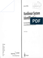 Nonlinear System Identification[Oliver Nelles]