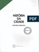 Historia da Cidade - Benevolo