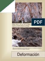 Deformación Geología estructural