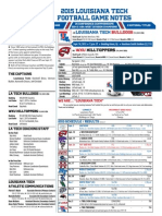 LA Tech at WKU game notes
