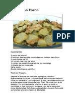 Brócoli Ao Forno Com Batata