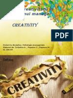 Importanţa creativităţii în activitatea unui manager.pptx