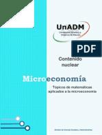1. Topicos de Matematicas Aplicados a La Microeconomia (1)