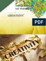 Importanţa Creativităţii În Activitatea Unui Manager