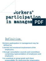 HR Worker's Participation