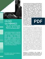 Entrevista a Hugo Gutiérrez