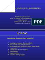 Fundamental Reservoir Fluid Behaviour