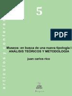 5. Museos en Busca de Una Niueva Tipología i