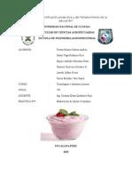 proceso  de elaboracion  de  Yogur