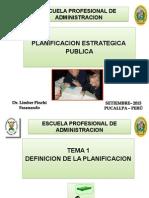 Definición de La Planificacion