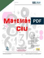 Guía de Matemática CIU