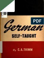 German self taught