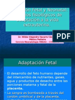 Adaptación Fetal y Neonatal,II