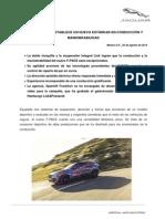 Boletín de Prensa Jaguar F-PACE Conducción Dinámica