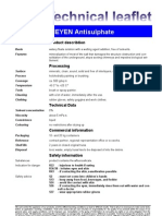 Fax TM Antisulphate