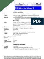 Fax TM Special Liquid 3