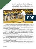 07.11.2013 Comunicado Reconoce Federación Impulso de Esteba Al Deporte