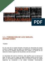 Generalidades de la mecánica de suelos
