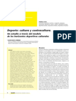David Mata - Deporte. Cultura y Contracultura.