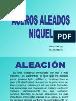 ACEROS ALEADOS NIQUEL