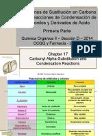 Reacciones de Condensación 1 QO2D2k14