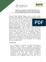 Propuesta de Convenio Específico de Colaboración MAGFOR-U NAN León