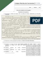 Ficha de Revisão Gramatical