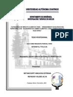 Tesis Ordenamiento Ecológio Chapingo