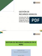 Semana 1 - Gestión de Recursos Hídricos - UC