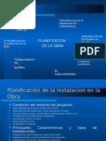 """Planificaciã""""n de Obra"""